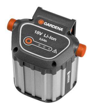 Аккумулятор Gardena Li-Ion BLi-18 / 2,6 Ач (09839-20)