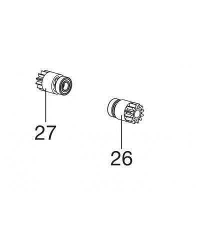 Шестерни комплект 2 шт для Gardena Classic 330, Classic 400, Comfort 400 С (37-19.147.01)