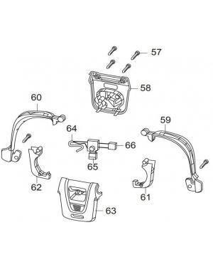 Выключатель для газонокосилки Gardena PowerMax 36E, 42E - до 2013 года выпуска (00057-46.459.01)