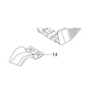 Направляющая травосборника для газонокосилок Gardena PowerMax 32E (62552-29.135.01)