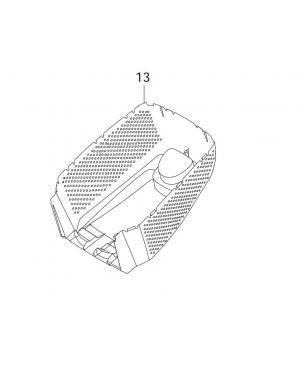 Нижняя часть травосборника для газонокосилок Gardena PowerMax 32E (62552-29.017.01)