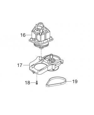Электродвигатель в комплекте для газонокосилки Gardena PowerMax 1100/32 (05031-00.610.00)