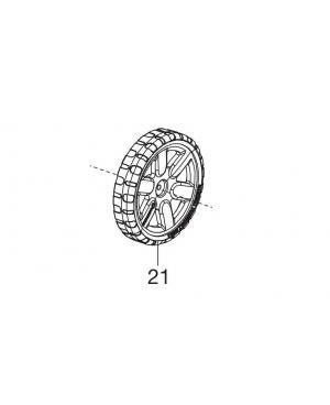 Колесо заднее для газонокосилки Gardena PowerMax 1100/32 (05031-00.600.07)