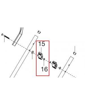 Барашек с гайкой для газонокосилок Gardena PowerMax 1200/32, PowerMax 1400/34, PowerMax Li-18/32, PowerMax Li-40/32 (05032-00.670.00)