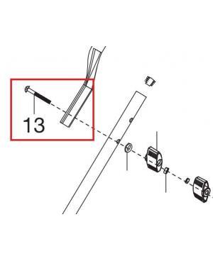 Болт M6х40 для газонокосилок Gardena PowerMax 1200/32, PowerMax 1400/34, PowerMax Li-18/32, PowerMax Li-40/32 (05032-00.600.66)