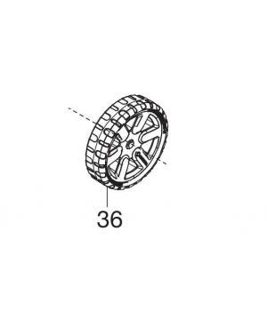 Колесо переднє для газонокосарок Gardena PowerMax (05032-00.600.04)
