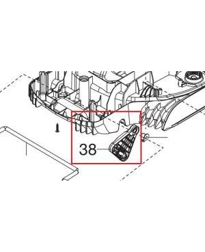 Пластина регулировки высоты для газонокосилок Gardena PowerMax 1200/32, PowerMax 1400/34 (05032-00.600.03)