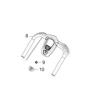 Ручка верхняя часть для газонокосилки Gardena PowerMax 1200/32 (05032-00.901.00)
