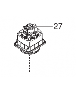 Электродвигатель для газонокосилок Gardena PowerMax 1400/34 (5034-00.610.50)
