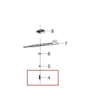 Болт кріплення ножа для газонокосарки Gardena PowerMax Li-40/41 (00057-96.841.01)