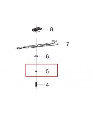 Шайба пружинная крепления ножа для газонокосилки Gardena PowerMax Li-40/41 (00057-96.842.01)