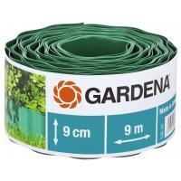 Бордюр садовий зелений Gardena 9х9 см (00536-20)