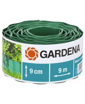 Бордюр садовый зеленый Gardena 9х9 см (00536-20)