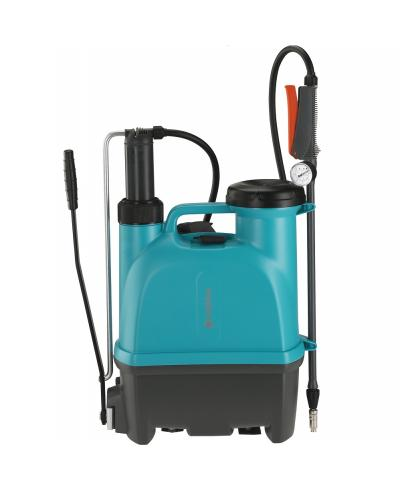 Опрыскиватель ручной ранцевый Gardena Comfort Plus 12 литров с манометром (11142-20)