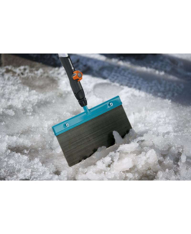 Скребок для льда и снега Gardena Combisystem 30 см и деревянная ручка 130 см (03251-30)