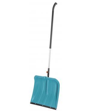 Лопата для уборки снега Gardena 40 см с пластиковой кромкой (03240-20) и ручка алюминиевая 130 см (03734-20)