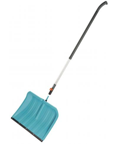 Лопата для прибирання снігу Gardena 50 см з пластиковою кромкою (03241-20) і ручка алюмінієва 130 см (03734-20)