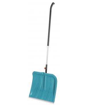 Лопата для уборки снега Gardena 40 см с кромкой из нержавеющей стали (03242-20) и алюминиевая ручка 130 см (03734-20)