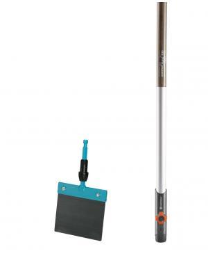 Скребок для льоду і снігу Gardena Combisystem 15 см і дерев'яна ручка 130 см (03250-30)